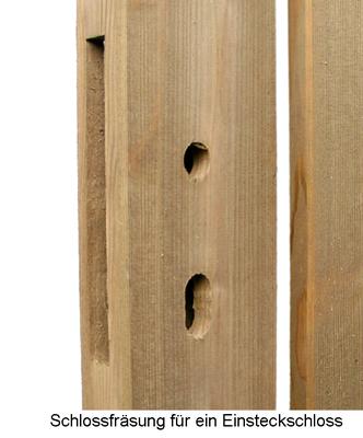 Gartentore gartentor rahmen erfurtholz - Gartentor holz mit schloss selber bauen ...
