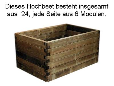 Hochbeete Und Pflanzkasten Hochbeet Modul 120 Cm Erfurtholz
