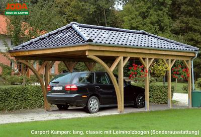 carport mit walmdach carport kampen mit walmdach erfurtholz. Black Bedroom Furniture Sets. Home Design Ideas