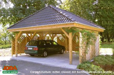 carport mit walmdach carport keitum mit walmdach erfurtholz. Black Bedroom Furniture Sets. Home Design Ideas
