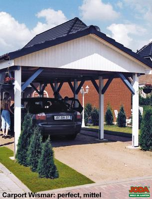 satteldachcarport mit 22 neigung carport wismar. Black Bedroom Furniture Sets. Home Design Ideas