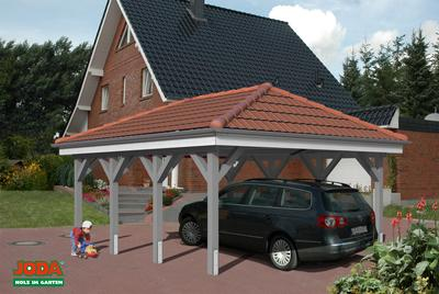 carport mit walmdach carport kiel mit walmdach erfurtholz. Black Bedroom Furniture Sets. Home Design Ideas