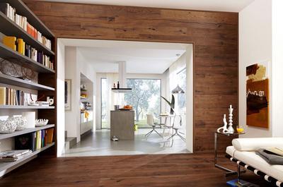 parkett als wandpaneel erfurtholz. Black Bedroom Furniture Sets. Home Design Ideas