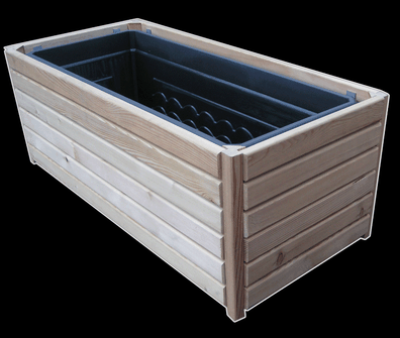 hochbeete und pflanzk sten pflanzkasten sibirische l rche rechteckig erfurtholz. Black Bedroom Furniture Sets. Home Design Ideas