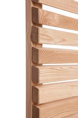 sichtschutzelemente moderner sichtschutzzaun aus sibirischer l rche erfurtholz. Black Bedroom Furniture Sets. Home Design Ideas