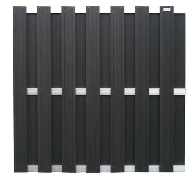 wpc sichtschutzzaun wpc sichtschutzzaun element in anthrazit erfurtholz. Black Bedroom Furniture Sets. Home Design Ideas